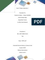Metodo Deterministico Trabajo