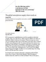 The Global Smartphone Supply Chain