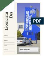 Licenciatura en Derecho portada