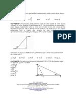 Exercícios de Trigonometria 1