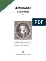 Jean Meslier - Il Curato Ateo