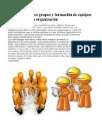Naturaleza de los grupos y formación de equipos de trabajo en la organización.docx