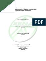 Evidencia 2 Market Projection
