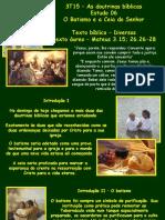 Estudo_06 - Batismo e Ceia