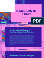 careers in tech