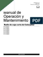 Manual de operación y Mantenimiento cat diesel