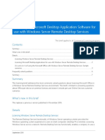 Desktop Application With Windows Server Remote Desktop Services