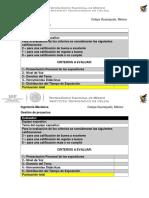 Hoja de Evaluación Presentaciones 1