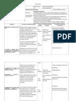 Plan anual de Formación Cívica y ética