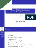 apresentacao_Circuitos trifásicos