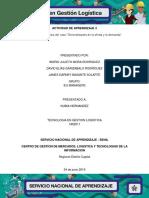 Evidencia 3 Análisis Del Caso_Generalidades de La Oferta y La Demanda