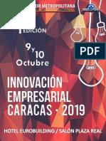 Planes de Patrocinio Innovación Empresarial 2019