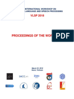 VLSP2018 Report