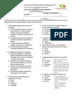 Examen Tecno Primer Bimestre 2016-2017