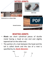 7 Riveted Joints