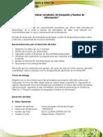 """Cargar Actividad Evidencia Ejercicio Práctico No.4 """"Catalogo Público Del Sistema de Bibliotecas"""""""