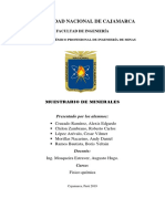 INFORME DE MUESTRARIO DE MINERALES