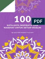 100 Kata-kata Inspiratif Dan Nasehat Untuk Setiap Muslim Perbesar