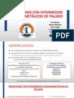 Organometalicos de Paladio