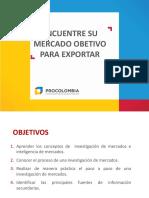 selección de Mercados Internacionales