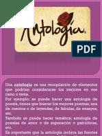 Antologia y Prologo