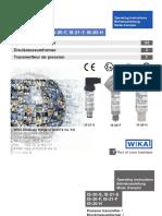 Spesifikasi Sensor WIKA