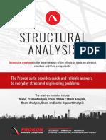 Prokon Brochure Structural Analysis 2017-08-29