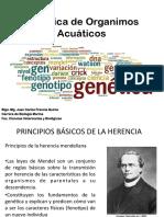 genética de organismos acuáticos