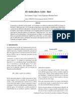 Lab 8. PH e Indicadores Acido-Base
