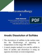 Electrometallurgy 3