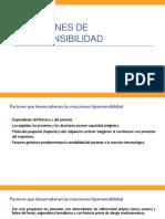 Reacciones de Hipersensibilidad (2)