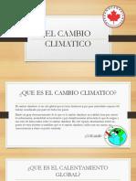 El Cambio Climatico Fernando