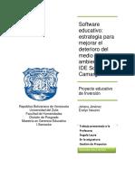 Software Educativo Como Estrategia Para Mejorar El Medio Ambiente