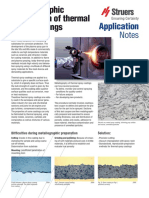 Application Note Spray Coatings