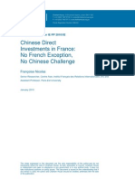 Chinese direct investments in France