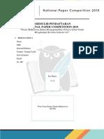 Formulir Pendaftaran NPC 2019