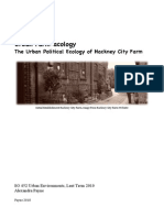Urban Farm-acology