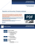 Regulation and Accounting - Changing Landscape Credit Markets (May 2010)