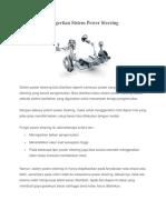 Pengertian Sistem Power Steering.docx