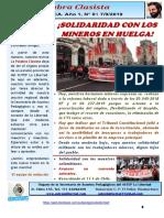 Revista La Palabra Clasista-Nueva Etapa, N° 1/2019