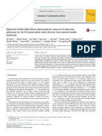 Zn-Fe Mixed Metal Oxide Derived From Layered Double Hydroxide-As