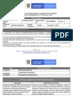 Informe de Lloro Primera Semana de Ciclo Dos Plataforma