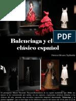 Patricia Olivares Taylhardat - Balenciaga y El Arte Clásico Español