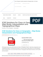 ICSE Solutions for Class 10 Geography - Map Study_ Interpretation and Topographical Maps - A Plus Topper.pdf