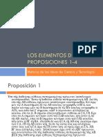 Sesión 3. Proposiciones 1-4