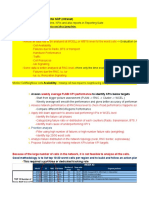 256389590 3G KPI Optimization Sheet Nokia