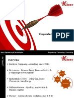 Krest - Corporate Profile