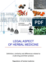 Legal Aspect of Herbal Medicine REF JUDITH 12 SEPT 2019