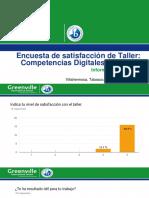 Encuesta de Satisfacción de Taller Competencias Digitales Docentes