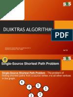 Dijiktras Algorithm
